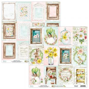 papier scrapbook Mintay Papers - beauty in bloom 06