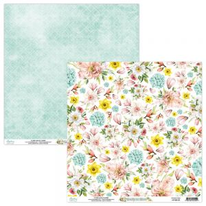 papier scrapbook Mintay Papers - beauty in bloom 05
