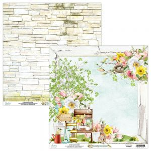 papier scrapbook Mintay Papers - beauty in bloom 01