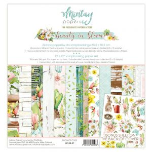papier scrapbook Mintay Papers - beauty in bloom [zestaw]