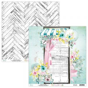 papier scrapbook Mintay Papers - happy place 03