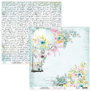 papier scrapbook Mintay Papers - happy place 01