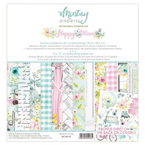 papier scrapbook Mintay Papers - happy place [zestaw]