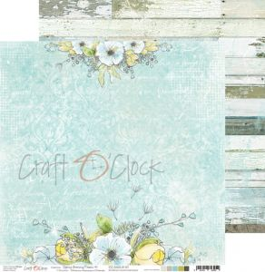 papier scrapbook craft o'clock - spring morning dreams 01