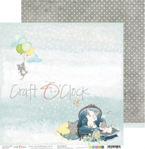 papier scrapbook craft o'clock - paws of happiness 01