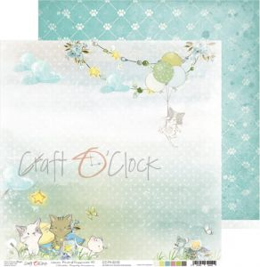 papier scrapbook craft o'clock - paws of happiness 03