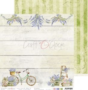 papier scrapbook craft o'clock - lavender bliss 01