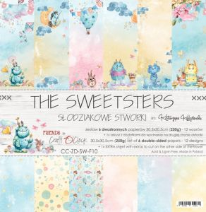"papier scrapbook Craft o'clock - the sweetsters [zestaw 12"" x 12""]"