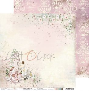 papier scrapbook craft o'clock - love me forever 01
