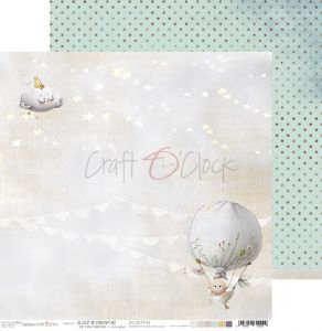 papier scrapbook craft o'clock - sleep & dream 02