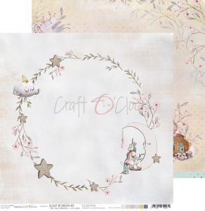 papier scrapbook craft o'clock - sleep & dream 05