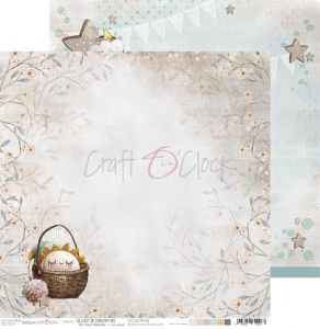 papier scrapbook craft o'clock - sleep & dream 06