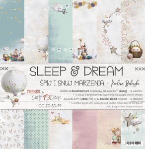 "papier scrapbook Craft o'clock - sleep & dream [zestaw 12"" x 12""]"