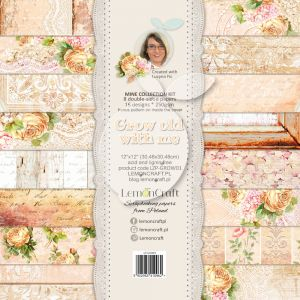 papier scrapbook LemonCraft - grow old with me [bloczek/pad]