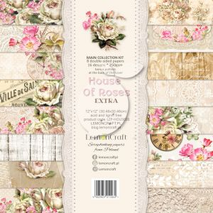 papier scrapbook LemonCraft - house of roses [bloczek/pad]