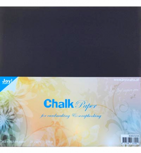 papier scrapbook Joy Crafts - czarny (chalk black) [0208]