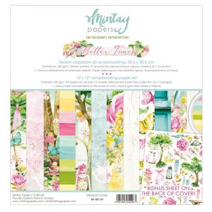 papier scrapbook Mintay Papers- better times [zestaw]
