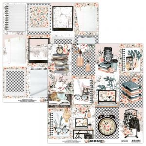 papier scrapbook Mintay Papers - day by day 06