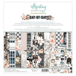 papier scrapbook Mintay Papers- day by day [zestaw]