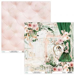 papier scrapbook Mintay Papers - lady 01