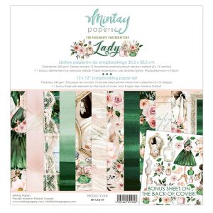 papier scrapbook Mintay Papers- lady [zestaw]