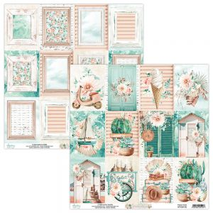 papier scrapbook Mintay Papers - suntastic 06