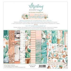 papier scrapbook Mintay Papers- suntastic [zestaw]