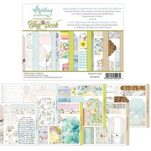 papier scrapbook Mintay Papers - tag book (elementy do wycinania) [bloczek/pad]