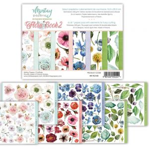 papier scrapbook Mintay Papers - flora book 2 (elementy do wycinania) [bloczek/pad]