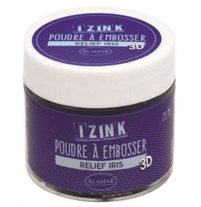 puder do embossingu IzInk - irys (iris)
