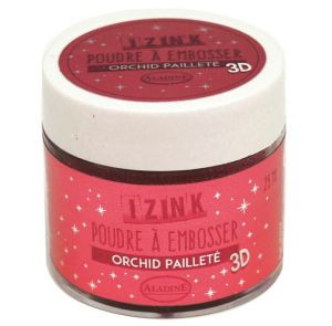 puder brokatowy do embossingu IzInk - orchidea (orchid)
