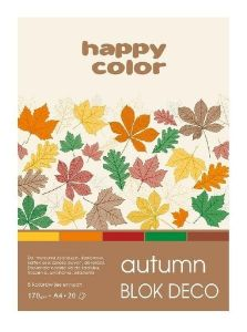 blok Happy Color deco autumn A4