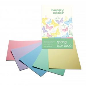 blok Happy Color deco spring A5