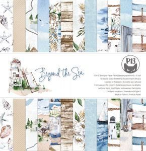 papier scrapbook P13 - beyond the sea [bloczek/pad]