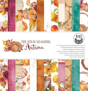 papier scrapbook P13 - the four seasons - autumn [bloczek/pad]
