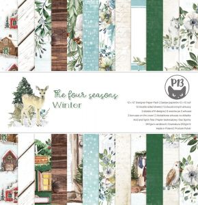 papier scrapbook P13 - the four seasons - winter [bloczek/pad]