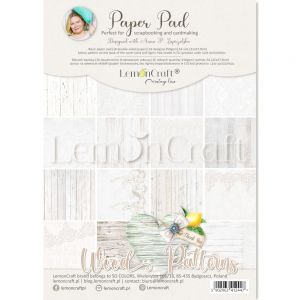papier scrapbook LemonCraft - wood patterns 01 [bloczek/pad]