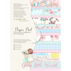 papier scrapbook LemonCraft - girl's little worlds [bloczek/pad]