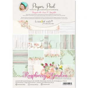 papier scrapbook LemonCraft - raspberry garden album edition [bloczek/pad]