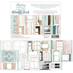 papier scrapbook Mintay Papers - window book (elementy do wycinania) [bloczek/pad]