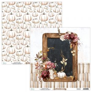 papier scrapbook Mintay Papers - fall festival 04