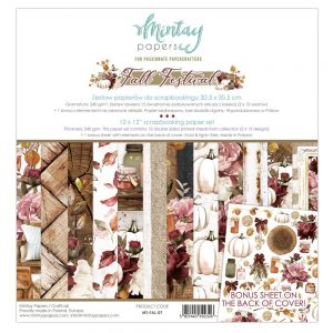 papier scrapbook Mintay Papers- fall festive [zestaw]