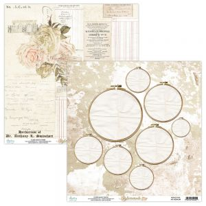 papier scrapbook Mintay Papers - homemade 04