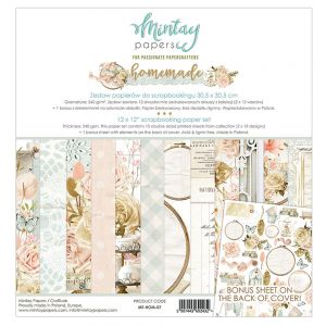 papier scrapbook Mintay Papers- homemade [zestaw]