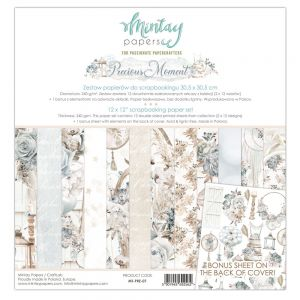 papier scrapbook Mintay Papers- precious moments [zestaw]