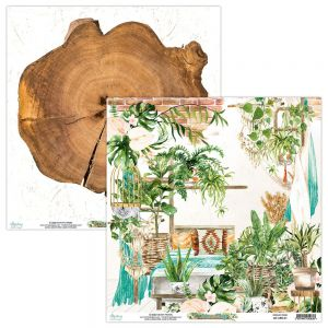papier scrapbook Mintay Papers - urban jungle 01
