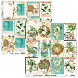 papier scrapbook Mintay Papers - urban jungle 06