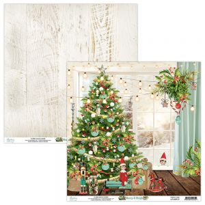 papier scrapbook Mintay Papers - merry & bright 01