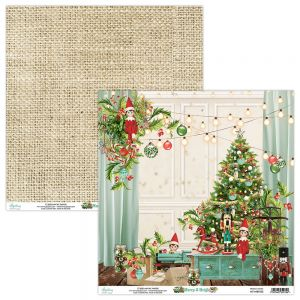 papier scrapbook Mintay Papers - merry & bright 03