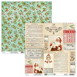 papier scrapbook Mintay Papers - merry & bright 04